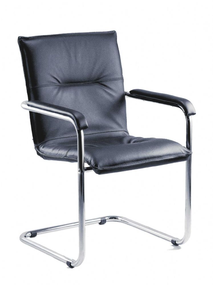 TEKNIK ENVOY Comfortable Black Envoy Reception Chair